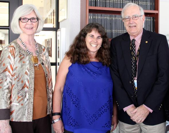 2016 LIFE @ UCF Celebration.  L to R: Vonnie Bradbury, Linda Walters and Richard Tucker