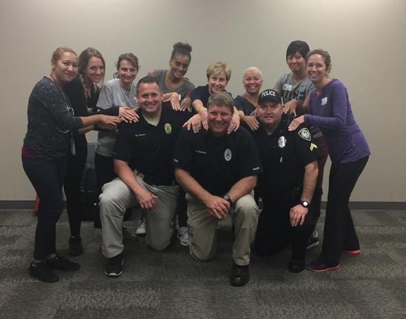 UCF Women's Self Defense Class Nov 2016